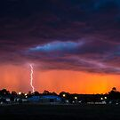 Lightning Sunset by Joel Bramley