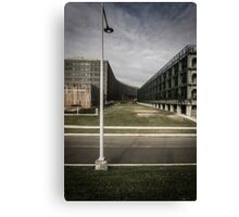 Greenway and Government Building Canvas Print