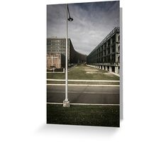 Greenway and Government Building Greeting Card