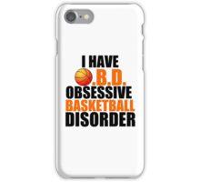 OBSESSIVE BASKETBALL DISORDER iPhone Case/Skin