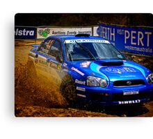 Mud Bath Free From Subaru Canvas Print