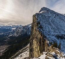 Mount Yamnuska by MichaelJP