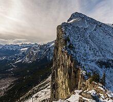 Mount Yamnuska by MichaelJP