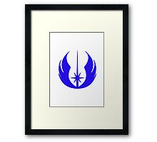 Jedi Crest Framed Print