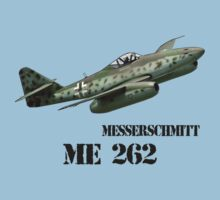 Messerschmitt ME 262 by hottehue
