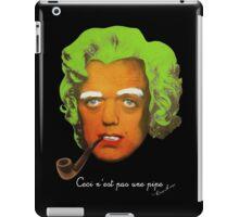 Oompa Loompa Self Portrait With Surreal Pipe iPad Case/Skin