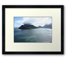 Cape Town View Framed Print