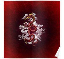 Oriental Dragon Poster