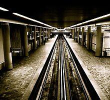 Paris Metro by Daniel Sorine