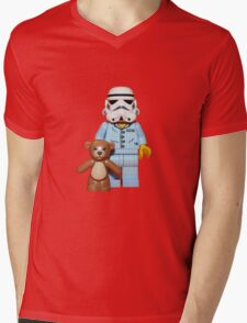 Sleepy Stormtrooper Mens V-Neck T-Shirt