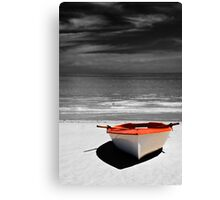 Deserted Boat. Canvas Print