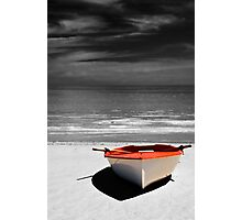 Deserted Boat. Photographic Print