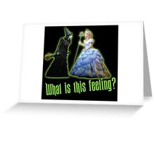 Wicked The Musical Greeting Card