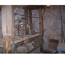 Inside Gold Road Mine Photographic Print
