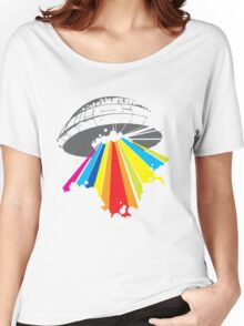 colour invaders #2 Women's Relaxed Fit T-Shirt