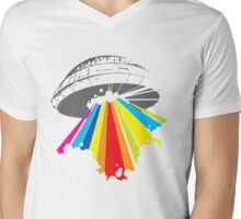 colour invaders #2 Mens V-Neck T-Shirt