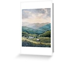 Mountain Valley Farm Greeting Card