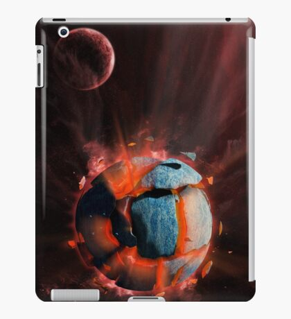 Exploding Planet iPad Case/Skin