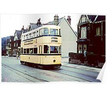 Sheffield Tram 1950's Poster