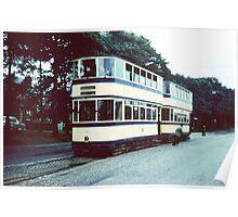 Sheffield Trams 1950's #2 Poster