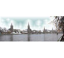 Snowy Steeples Photographic Print