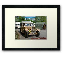 "1941 ""Humber"" Staff Car Framed Print"