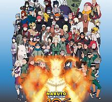 Naruto and ninjas  by yass-92
