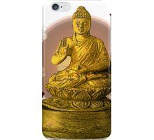 Buddha tea time iPhone Case/Skin