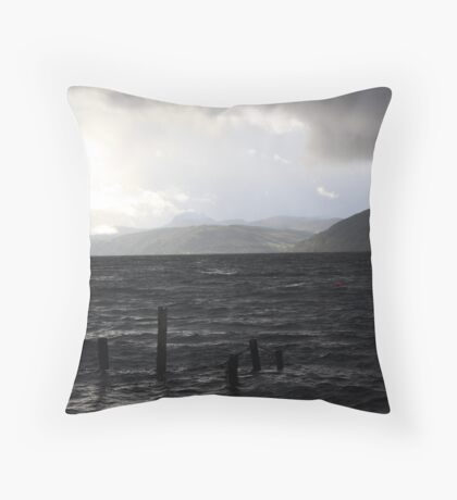 Red Bouy Throw Pillow