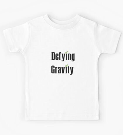 Wicked The Musical Defying Gravity Kids Tee