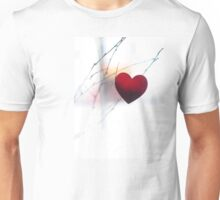 Winter Heart Unisex T-Shirt