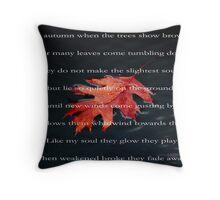 Autumn Leaf... Throw Pillow
