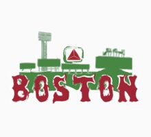 Boston Red Sox Fenway Park by emrdesigns