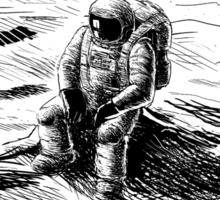 World's Loneliest Astronaut Sticker