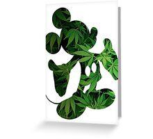 Mickey Weed Greeting Card
