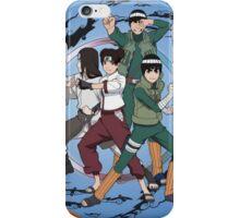 Naruto The team has gai iPhone Case/Skin