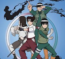 Naruto The team has gai by yass-92