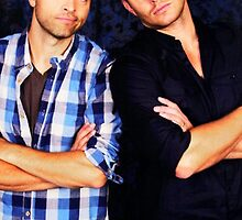 Jensen and Misha by thefanbuisness