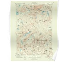 Maine USGS Historical Map Kingsbury 306631 1950 62500 Poster