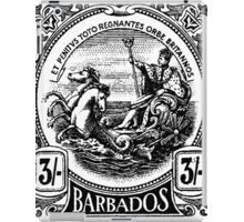 BARBADOS-STAMP iPad Case/Skin