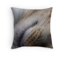 Calmful until you touch it Throw Pillow