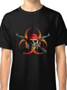 Zombie And Guns Classic T-Shirt