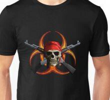 Zombie And Guns Unisex T-Shirt