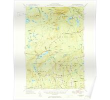 Maine USGS Historical Map Kingsbury 460536 1950 62500 Poster