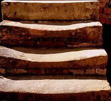 Well worn steps at Port Arthur by myraj