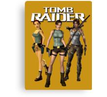 Lara Croft - Tomb Raider Canvas Print