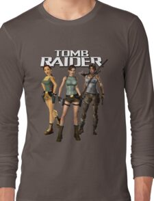 Lara Croft - Tomb Raider Long Sleeve T-Shirt