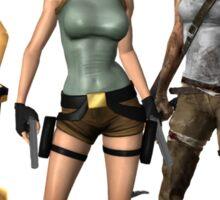 Lara Croft - Tomb Raider Sticker