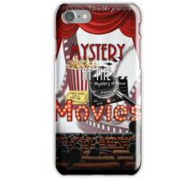 Mystery at the Movies iPhone Case/Skin