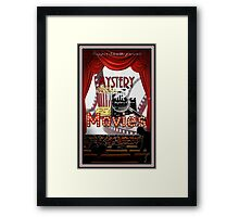 Mystery at the Movies Framed Print